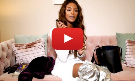 Inside Jourdan Dunn bag