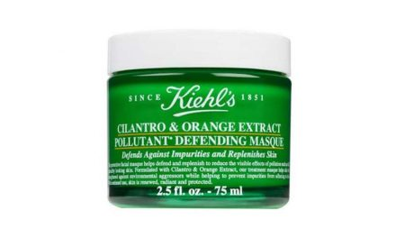 Kiehl's anti-pollution skincare mask