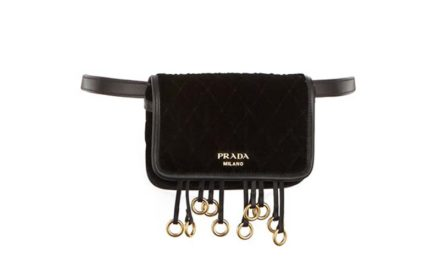 Prada Velvet Belt Bag