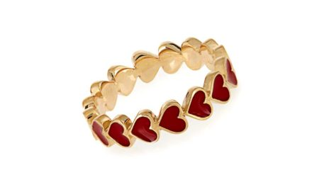 Alison Lou Heart Ring
