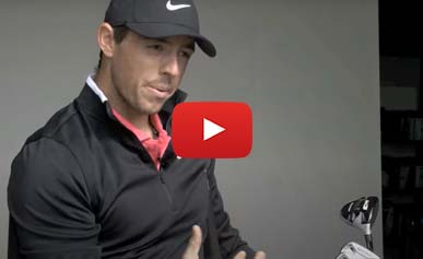 In the golf bag of Rory McIlroy