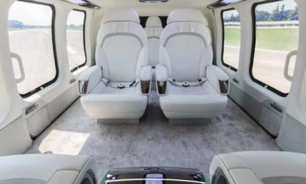 Uber-luxury private helicopters
