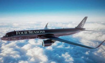The New Four Seasons Private Jet